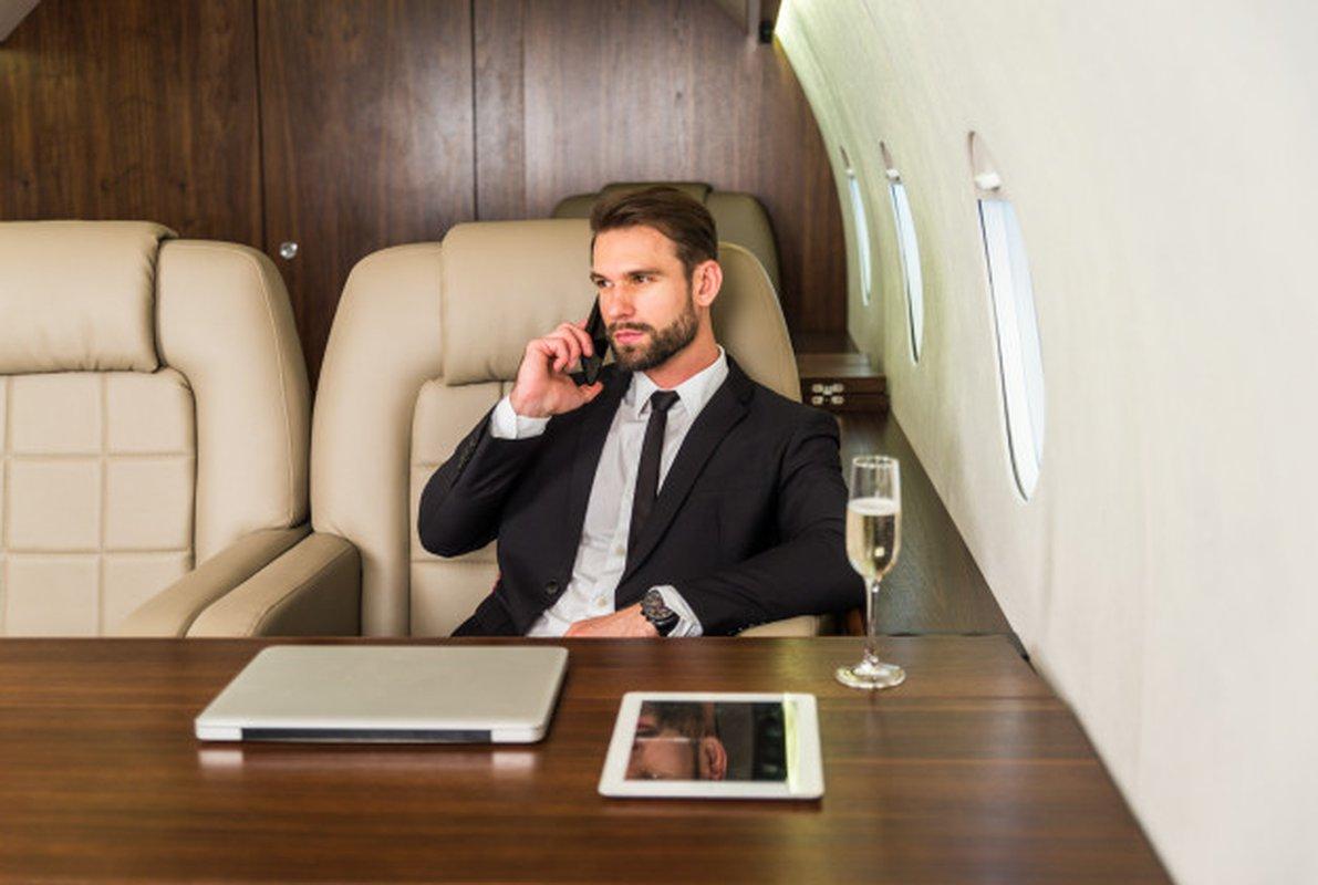 Compagnie aérienne pour voyage d'affaires